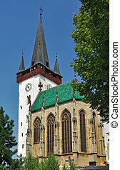 Spissky stvrtok church - historic church if St. Ladislav...