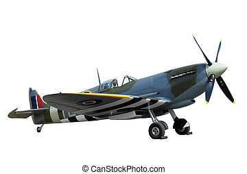 spitfire - Beautifully restored vintage WW2 Supermarine...