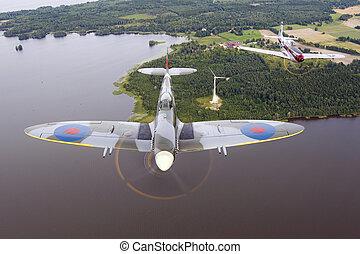 Spitfire & Mustang