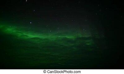 spitsbergen, nördliche lichter