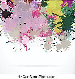 Splash abstract