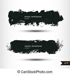 Splash banners. Watercolor background. Grunge background....