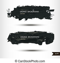 Splash banners. Watercolor background. Grunge background. ...