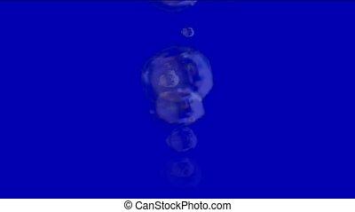 splash bubbles, float blisters