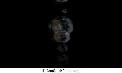 splash bubbles group,float blisters