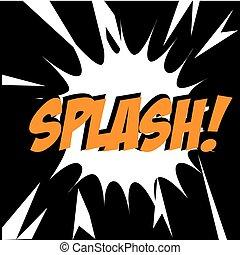 splash comic