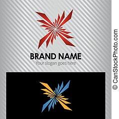 Splash Logo design abstract vector