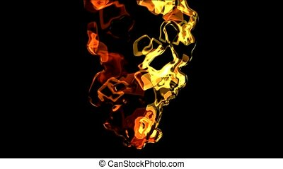 splash mercury liquid and fire
