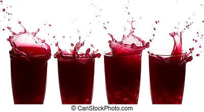splash of juice
