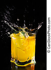 Splash of orange juice