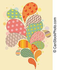 Splash Pattern Background