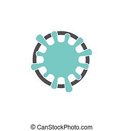 splash water circle swirl logo vector