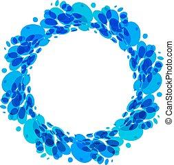 Splash water ring