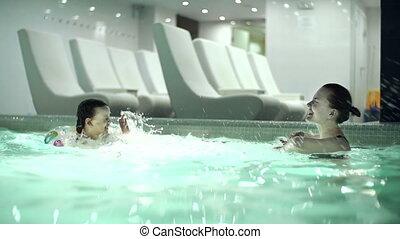 Splashing Each Other