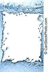 Splashing Water Frame