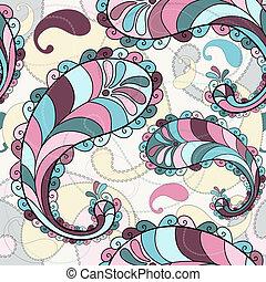 Splashy seamless pattern