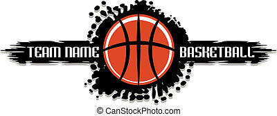 splatter, basquetebol, desenho