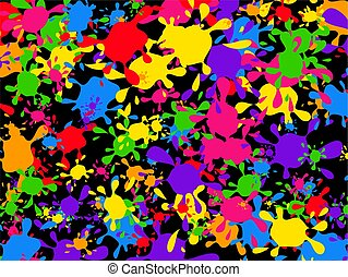 splatter wallpaper - graffiti paint splattering wallpaper