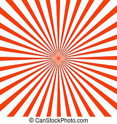 splendere, rosso, illustrazione