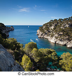 Splendid southern France coast (Calanques de Cassis)