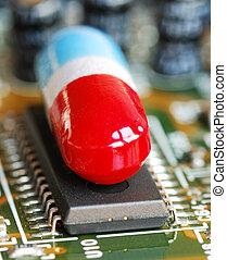 splinter, computer, pil