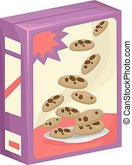 splinter, koekjes, chocolade