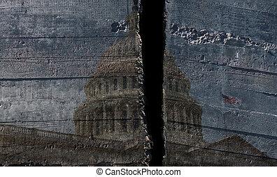 Split capitol dome