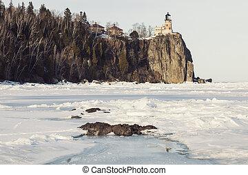 Split Rock Lighthouse. Minnestota, United States.