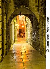 Split streets