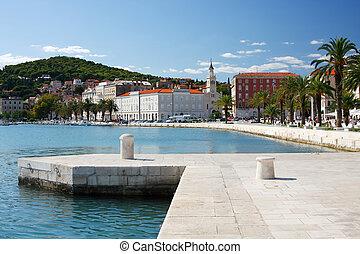 Split, town in croatia