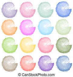 splotches, colorato
