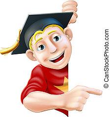 spoinowanie, absolwent