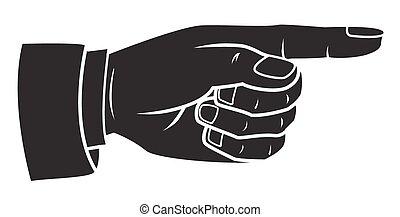 spoinowanie palec
