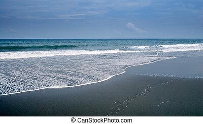 spokojny, ocean
