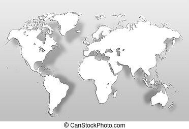 společnost, map.