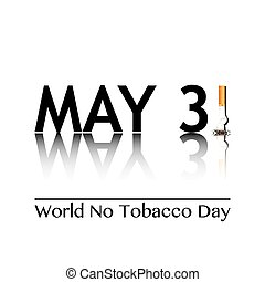společnost, ne, tabák, den