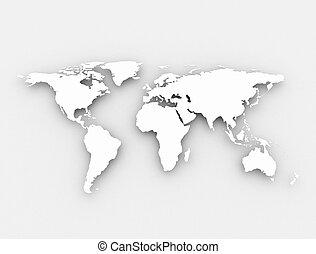 společnost, neposkvrněný, 3, mapa