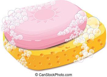 Sponge And Soap