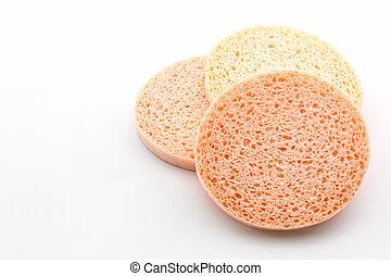 sponge., gesichtsbehandlung, zellulose