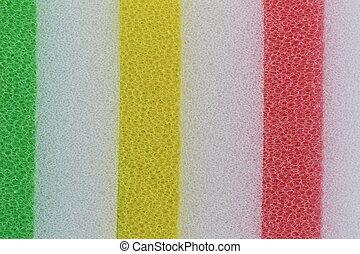 Sponge surface background.