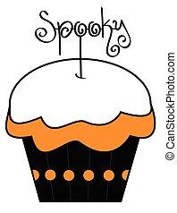 Spooky Cupcake