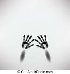 spooky diffuse silhouette