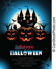 Spooky Halloween Background