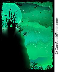Spooky Halloween composition. EPS 10