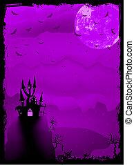 Spooky Halloween composition. EPS 8