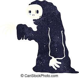 spooky, halloween, dessin animé, déguisement