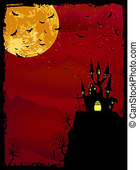 spooky, halloween, eps, space., 8, copie