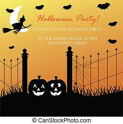 Spooky Halloween Invite