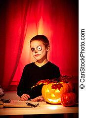 Spooky lad