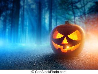 spooky, nuit halloween